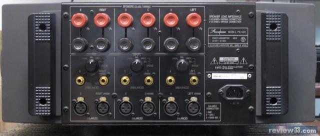 """*各声道回路采用""""电流反馈增幅电路"""" *电源采用700瓦的环形变压器 *互"""