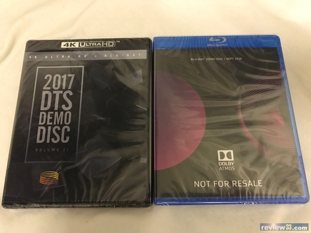 review33 - 二手市場: 出售: 2017 DTS 4K blu-ray 2016 Dolby Atmos Demo