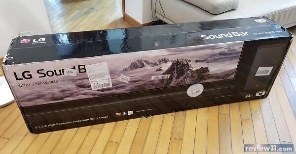 review33 - 二手市場: 出售: LG SK10Y Dolby Atmos Soundbar