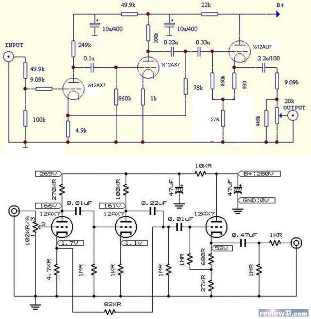 m7前级电路图