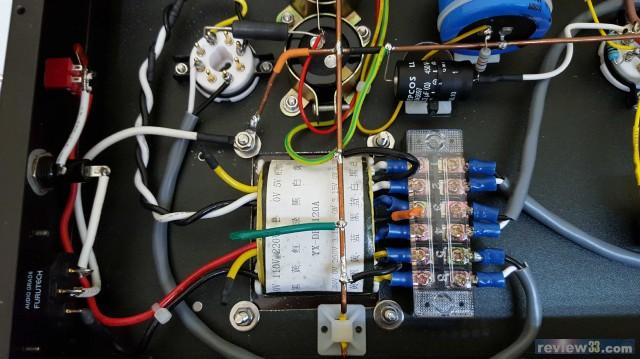 在灯丝并一个100欧电位器电路图
