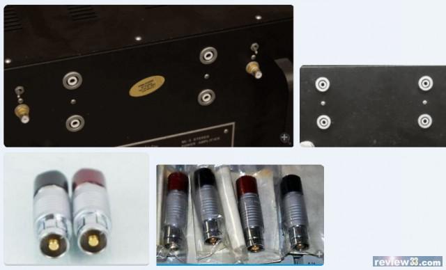 Looking for Mark Levinson special Speaker Connectors - diyAudio