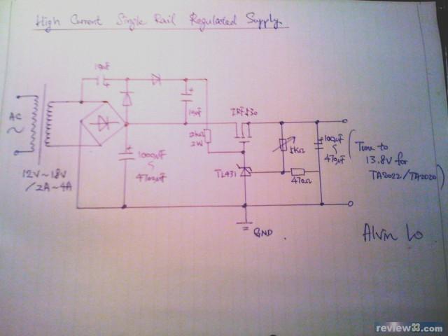 这个电路已经实试, 同大家分享一下~ 电路主要由tl431 mosfet扩流