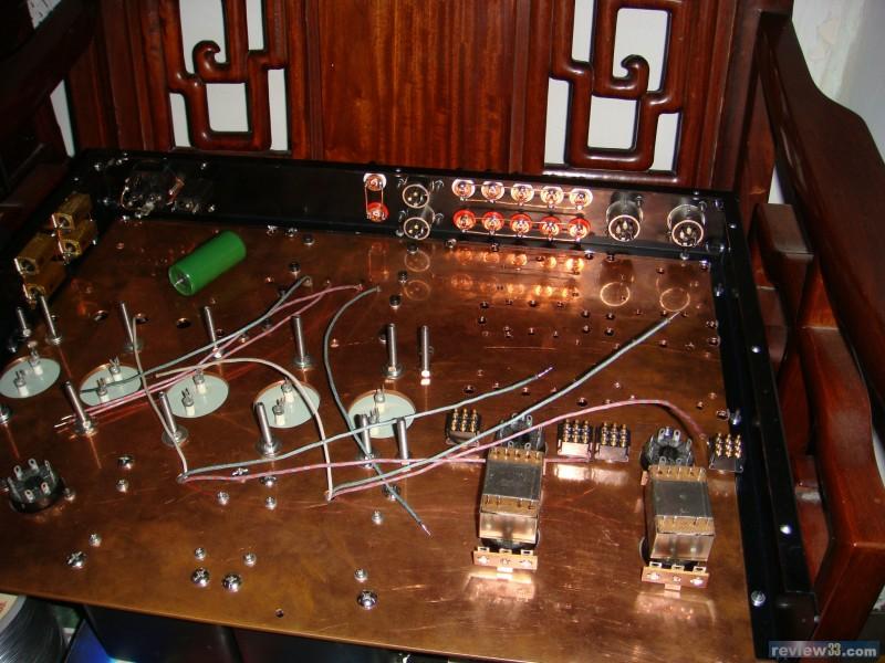 胆机带高低音前级电路图