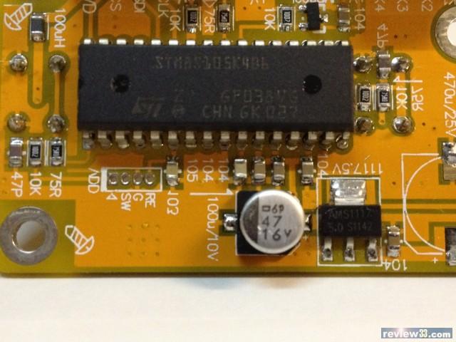整体结构:a.4路继电器音频信号输入,每路都有led灯指示;b.
