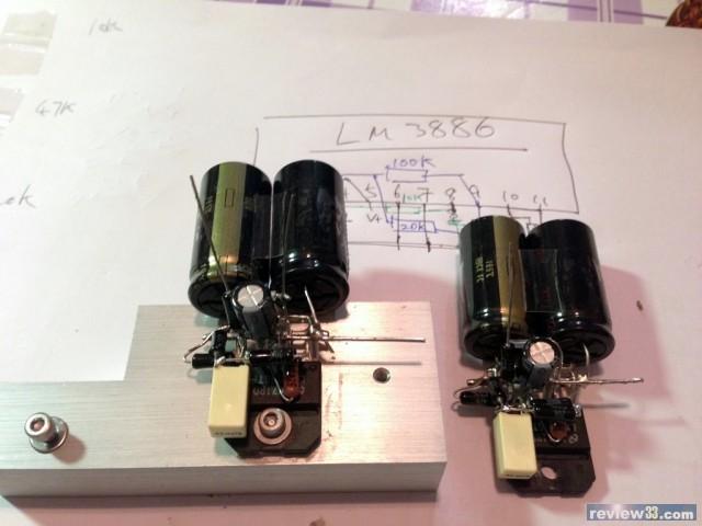 12ax7推el84单端电路图