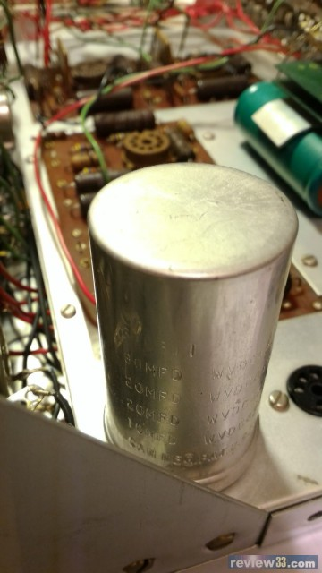 硒整流内阻比现代的矽整流高,电路结构又是倍压整流,其带负载的压降